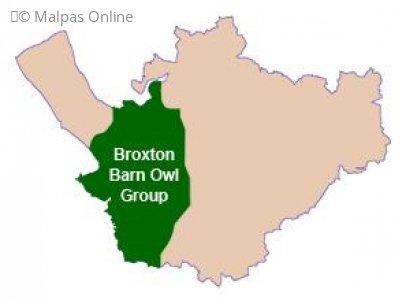 Broxton Barn Owl Group Operational area