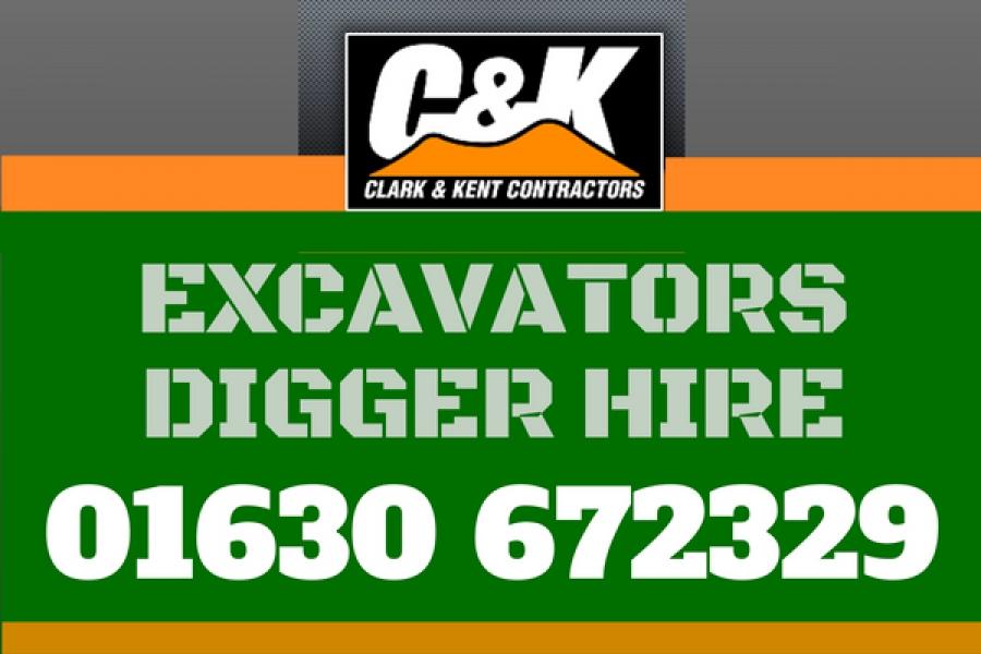 CK advert digger hire